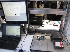 空中浮遊デモのシステム構成