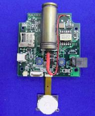 携帯型GPS搭載放射線測定ロガー(小型版試作モデル)