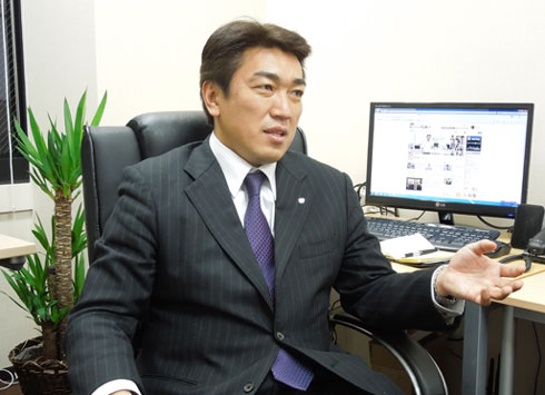 日本テクノロジーソリューション 岡田耕治社長