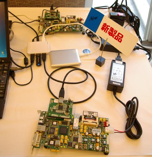 スペック値に近い実効速度が出るデザイン・ゲートウェイの「USB3.0-IPコア」