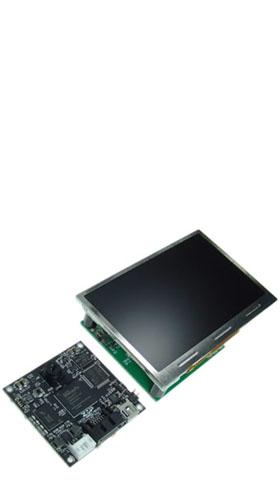 センサーモジュールと液晶ディスプレイモジュール