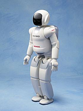 ホンダのヒューマノイドロボット「ASIMO(アシモ)」