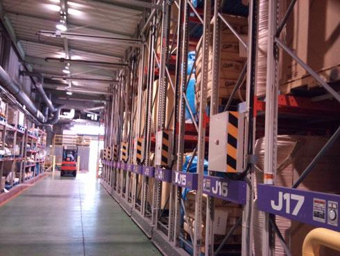 ロンビックの倉庫