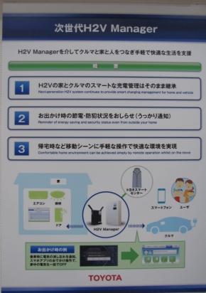 次世代版「H2Vマネージャー」の機能