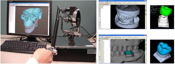 アイネット 3D事業部の技術例(2)「ハプティク技術」について