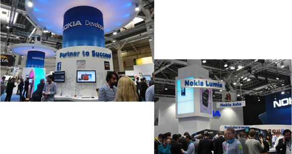 Nokiaのブース