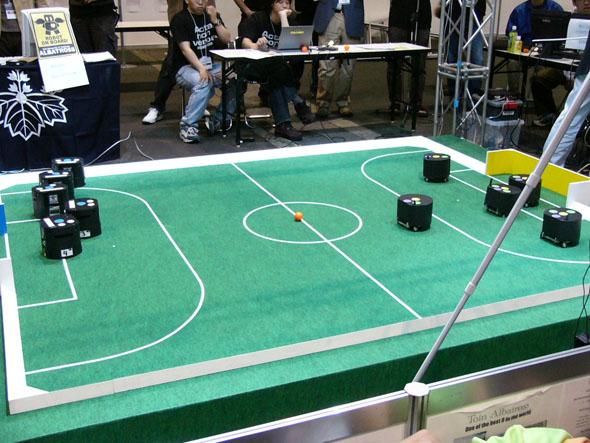 ロボカップの小型ロボットリーグ