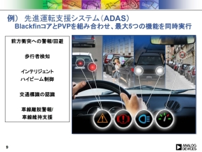 先進運転支援システムの画像認識機能