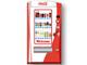 ジュースを選ぶ・買うがハッピーに、新型自販機「インタラクティブ ハピネスマシン」を羽田に設置