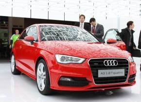 新型「Audi A3」の「1.8T quattro」モデル