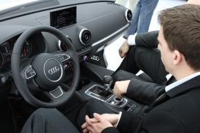 新型「Audi A3」のインテリア