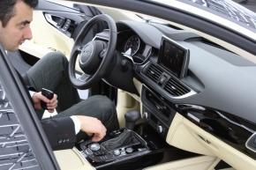 「Audi A7」のインテリア