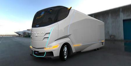 三菱ふそうトラック・バスの「FUSO-ConceptII」