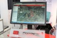 通信ターミナル「Roadstar」のデモ