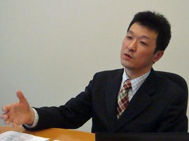 写真 日本オラクル Java Embedded Global Business Unit 担当シニアマネージャー 信太(しだ)純氏