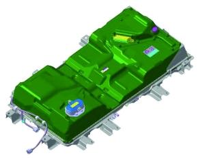 「MINICAB-MiEV」の電池パック