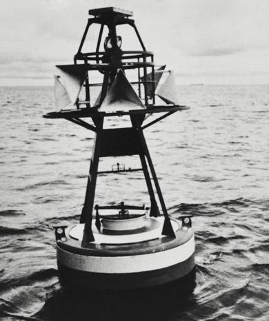 海上保安庁のブイに独立電源として採用