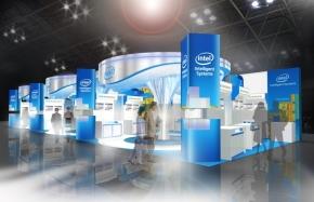 「ESEC2012」のインテル・ブースの外観1
