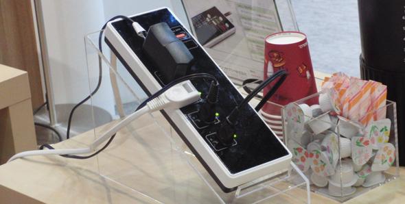 無線LAN内蔵電源タップ「iRemoTap」