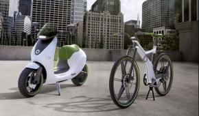smartブランドの電動車両のコンセプトモデル