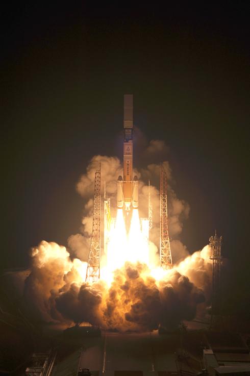 「H-IIAロケット21号機(H-IIA・F21)」の打ち上げの瞬間