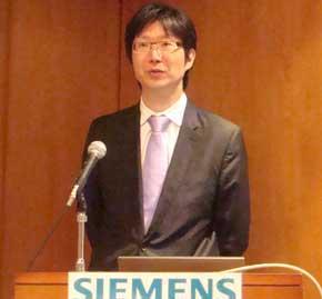 シーメンスPLMソフトウェア日本法人の代表取締役社長兼米シーメンスPLMソフトウェアバイスプレジデントの島田太郎氏