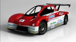 三菱自動車のEVレースカー「i-MiEV Evolution」