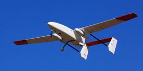 JAXAが開発した小型無人航空機システムの外観(1)