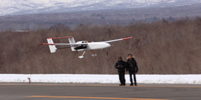 JAXAが開発した小型無人航空機システムの外観(2)