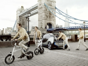 「BMW i Pedelec」の利用イメージ