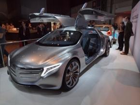 ダイムラーの次世代コンセプトカー「F125!」の外観