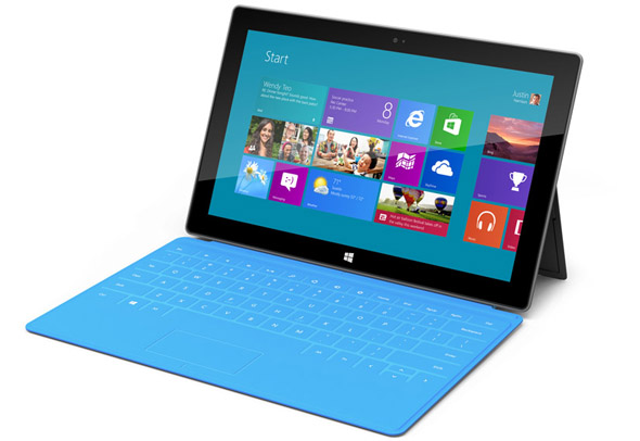 10.6型ディスプレイを搭載したタブレット型端末「Surface」