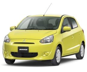 三菱自動車のグローバルコンパクトカー「ミラージュ」