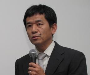 基調講演に登壇したジェイテクトの益啓純氏