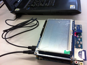 Androidボード(試作機1号)
