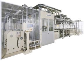 波長制御乾燥システムを搭載した乾燥試験炉