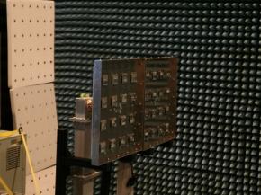10kWのマイクロ波を送信するアンテナ
