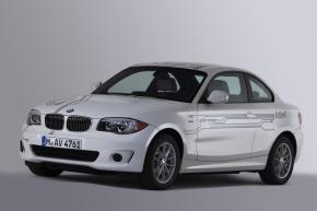 前方から見た「BMW ActiveE」