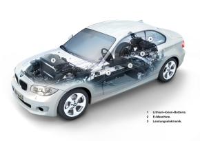 「BMW ActiveE」のパワートレイン