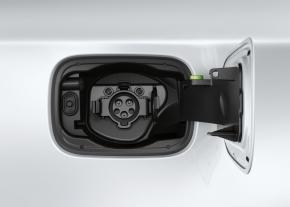 「BMW ActiveE」の充電コネクタ