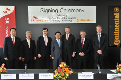 車載Liイオン電池の合弁企業の設立で合意したコンティネンタルとSKイノベーション