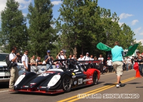 エレクトリッククラスで優勝した「TMG EV P002」