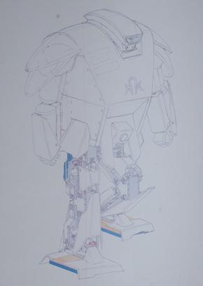 「はじめロボット43号機」の完成予想図
