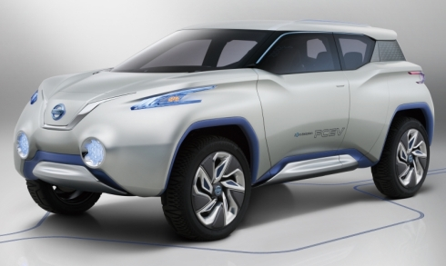 日産自動車の燃料電池車のコンセプトカー「TeRRA」