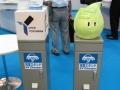 「EVEX2012」で展示されていたEV用充電器