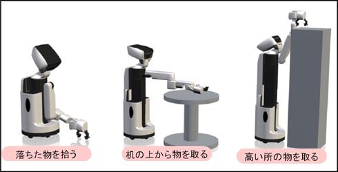 生活支援ロボット「HSR」