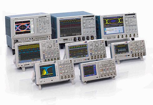 テクトロニクスの計測器ラインアップ