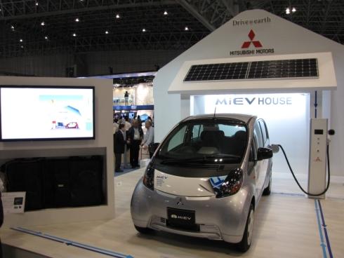 三菱自動車が提案する「MiEVハウス」