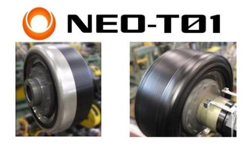 「NEO-T01」によるタイヤの製造