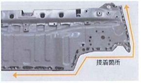 「構造用接着剤」で結合する箇所